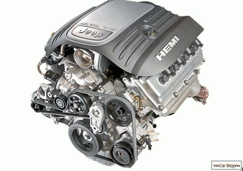 Jeep Grand Cherokee 5,7 HEMI двигатель
